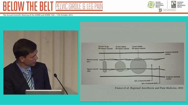 Non-surgical treatment of chronic lower limb joint pain Dr Neels du Toit