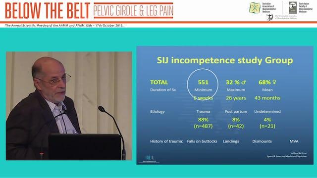 Understanding pelvic biomechanics for assessment and treatment of SIJ incompetence A Prof Mel Cusi