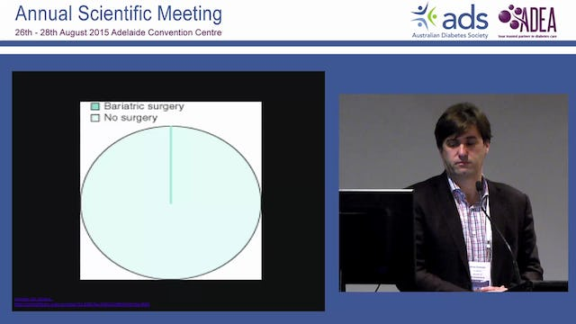How effective is bariatric surgery in preventing type 2 diabetes Jacob Chisholm