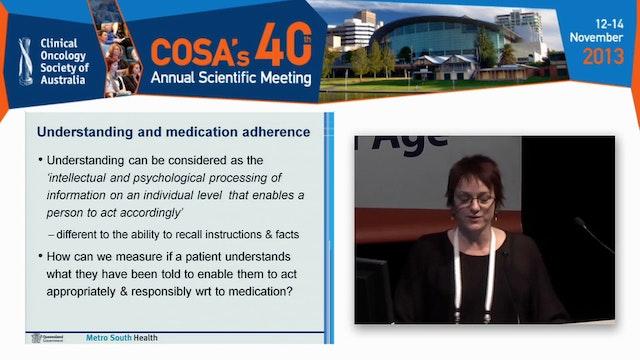 Medication adherence Christine Carrin...