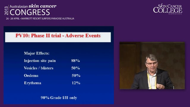 Surgical Management of Advanced Melanoma Assoc Prof Mark Smithers