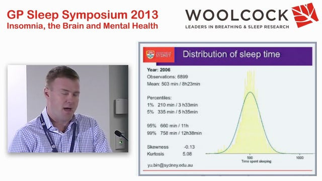Public Health Aspects of Sleep Medicine Nathaniel Marshall