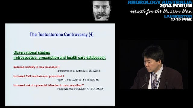 An update on testosterone Professor Bu Yeap, The University of Western Australia, Fremantle Hospital