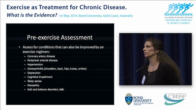 Exercise as a treatment for Diabetes Prof Fiatarone Singh