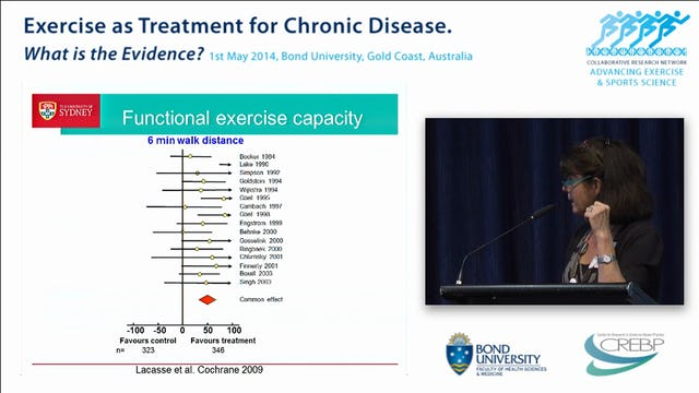 Exercise as a treatment for COPD Professor Jennifer Alison