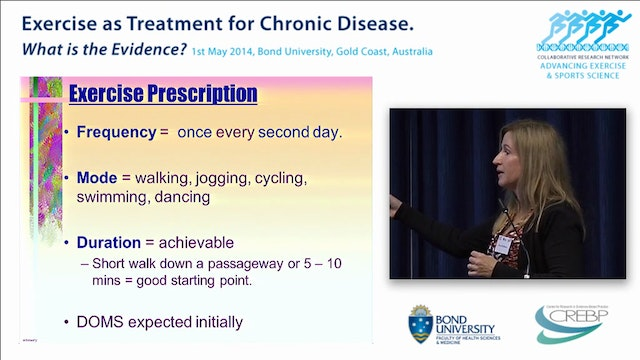 Graded exercise for Chronic Fatigue Prof Wallman