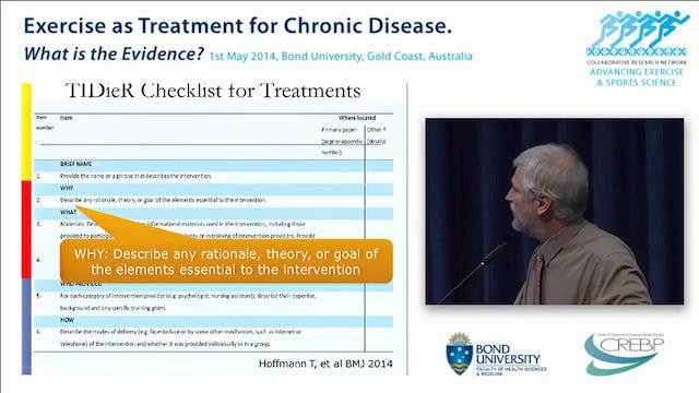Prescribing exercise in primary care Prof Paul Glasziou