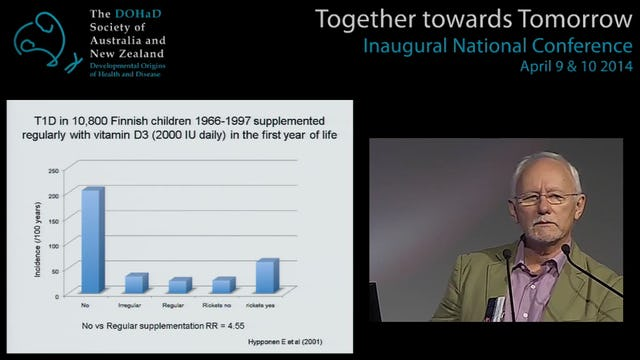 Early life origins of type 1 diabetes and other autoimmune diseases Len Harrison
