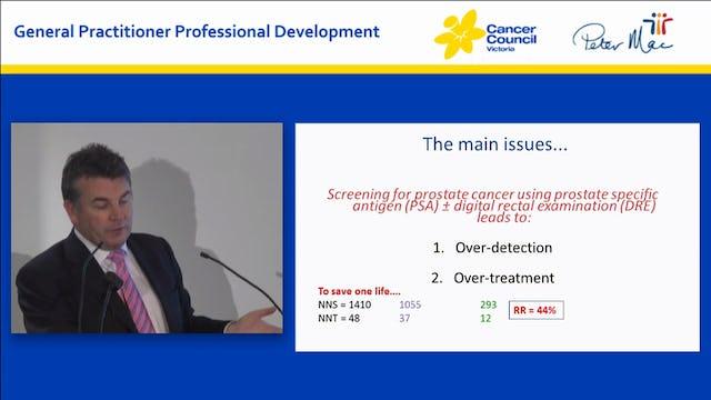 PSA testing...HELP Making sense of the guidelines Associate Professor Declan Murphy