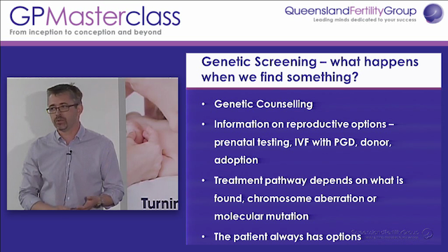 Implications of genetic screening for...