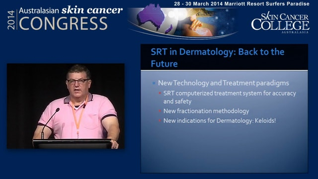 Radiotherapy for skin cancer in a der...