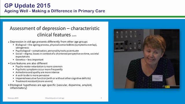 Emotional Health Older People and Depression Dr Raluca Tudor Senior Consultant Psychogeriatrician Older Persons Mental Health Service Southern Adelaide Team