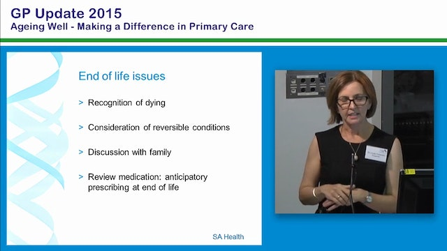 Palliative Care and End of Life Issue...