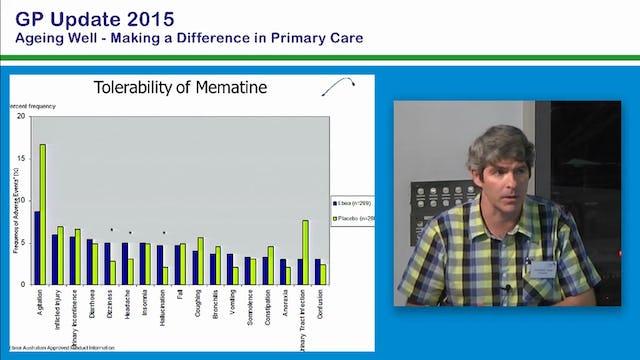 Prescribing for Dementia Prof Mark Yates Consultant Physician in Geriatric Medicine Deakin University, Ballarat Health Service