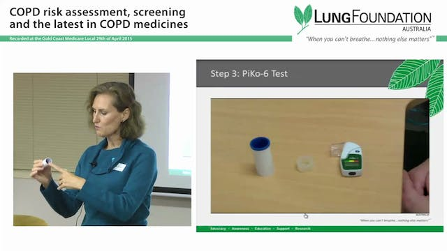 COPD Risk assessment and screening Judy Powell