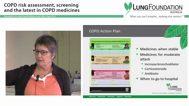 Resources and medicines to manage COPD Ainsley Ringma