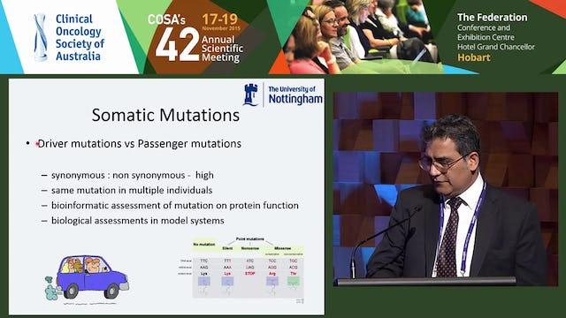Rare molecular mutations in metastatic melanoma Prof Poulam M Patel