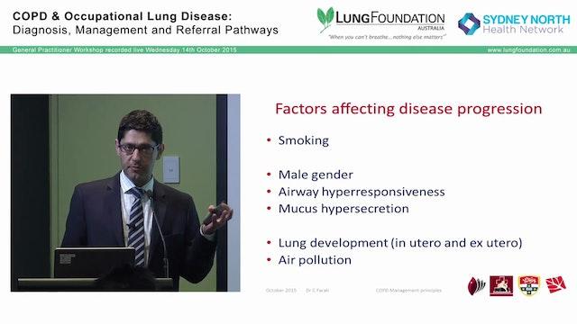 General principles in managing COPD D...