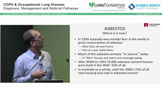 History of Asbestos use - who is at r...