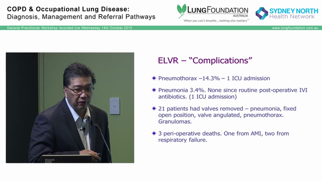 The role of Bronchoscopic LVRS in COPD