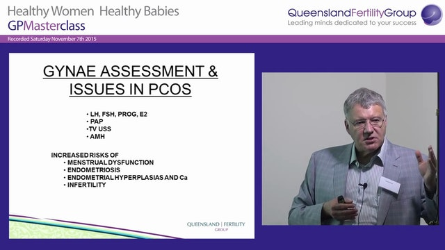 Abnormal Menstrual Disorders and PCO How to sort these in your office Dr David Molloy