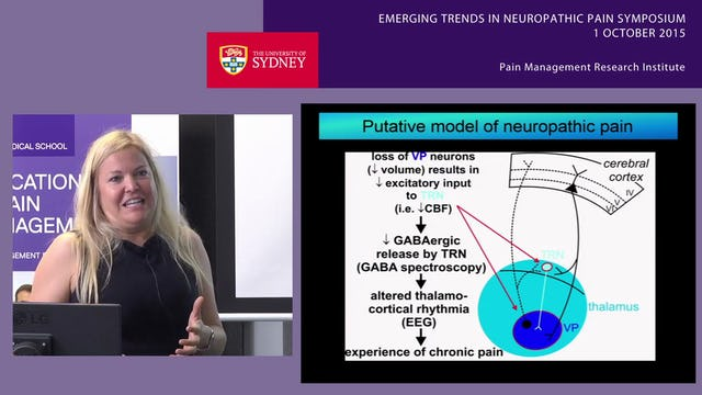 Brain Mechanisms of Neuropathic Pain Dr Sylvia Gustin