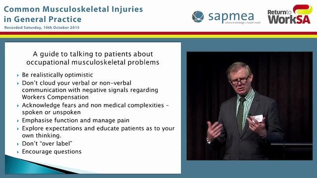 Shoulder injury, management and case ...