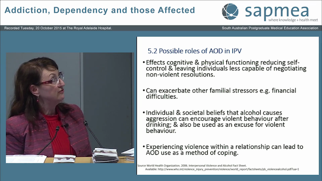 Family Violence Associated with Drug Addiction Professor Ann M Roche