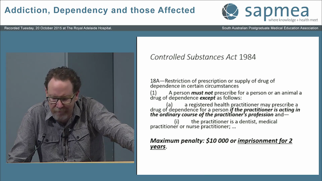 Opioid Dependency Patients that make your heart sink Dr Rhys Henning