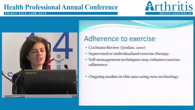 Osteoarthritis Update and Treatment Assoc. Prof Catherine Hill MBBS MD MSc FRACP