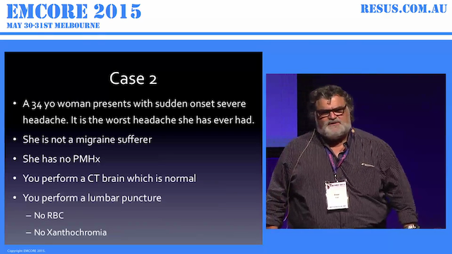 3 Neuro Emergencies not to miss AProf...