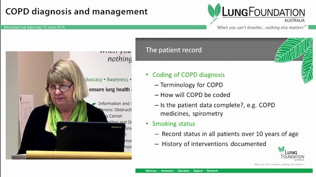 COPD Implementing systems in general ...