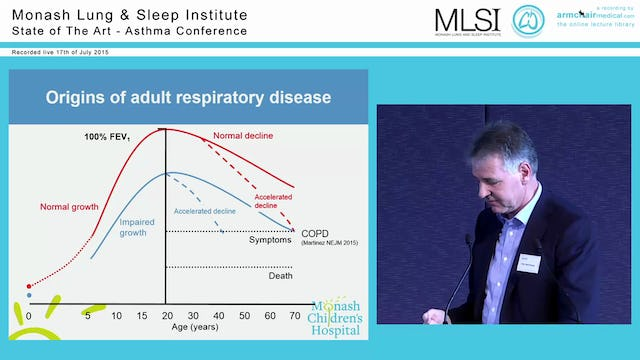 Childhood Asthma and COPD Prof Nick Freezer