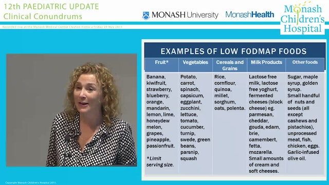 'What does a low FODMAPs diet look li...