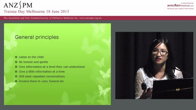 Paediatrics palliative medicine Emily Chang