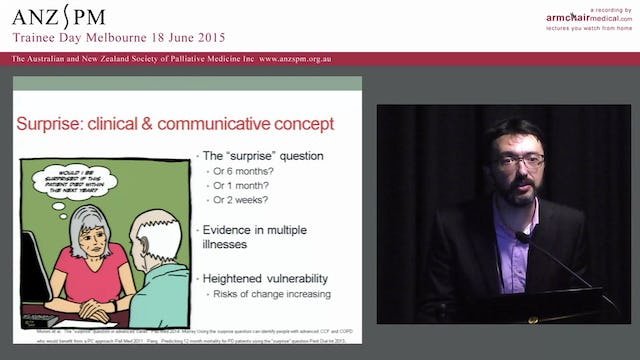 Palliative care in the aged care setting Michael Chapman