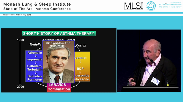 Current Management of Asthma Prof Pet...