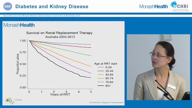 Management of chronic kidney disease in the diabetic patient - practical considerations Dr Melinda Tee