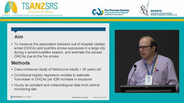 The health effects of bushfires Michael Abramson Monash University, VIC