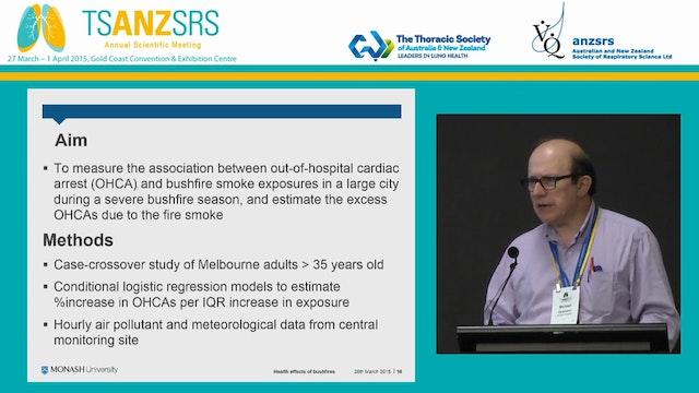 The health effects of bushfires Micha...
