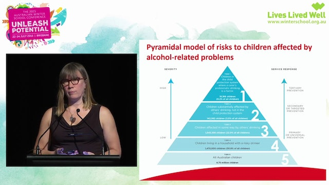 Alcohol harms to others Dr Anne-Marie...