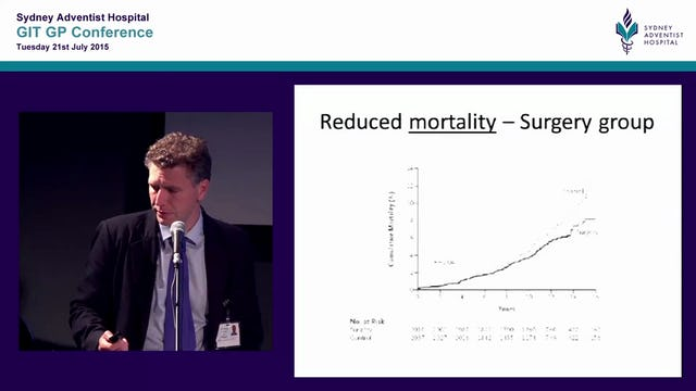 Obesity an increasing community burden and the role for surgery Mr Philip Le Page