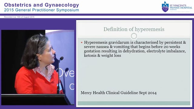 Hyperemesis, Bleeding in Early Pregnancy & Ectopic Pregnancy Dr Meredith Tassone
