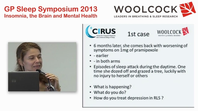 Managing Restless Legs Syndrome  Ales...