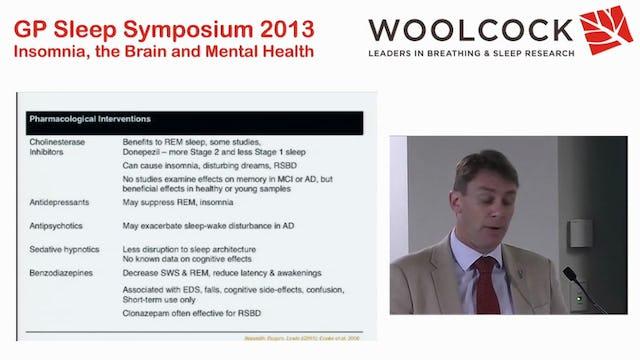 Sleep In Ageing And Neurodegenerative Disease  Dr Simon Lewis on behalf of Associate Professor Sharon Naismith