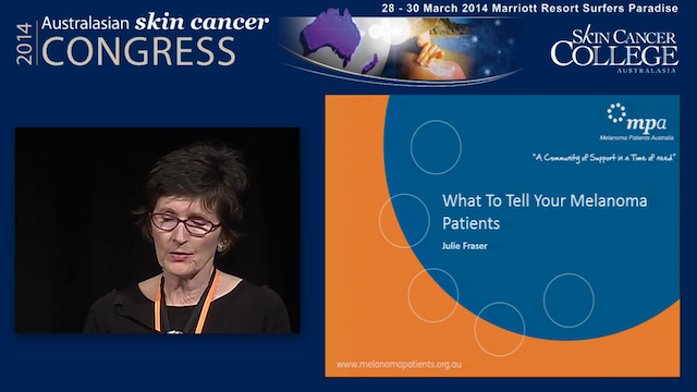 What to tell your Melanoma patients J...