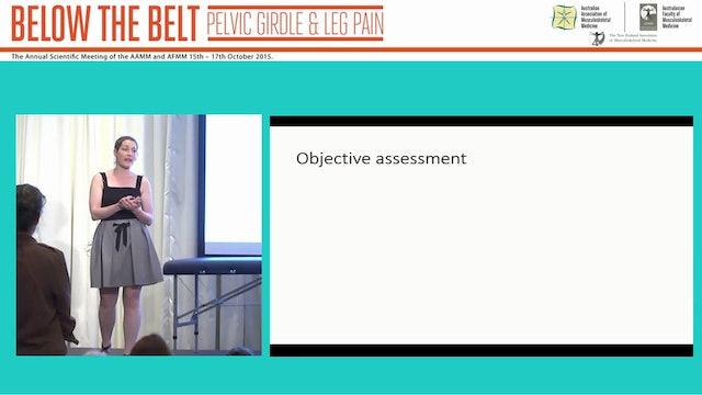Assessment and treatment of lower limb tendinopathies Ebonie Rio