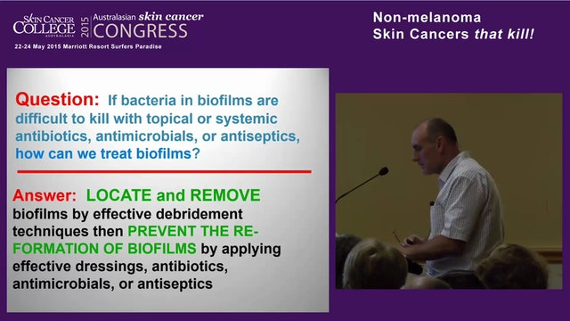 Biofilm in clinical practice – Mr Ger...