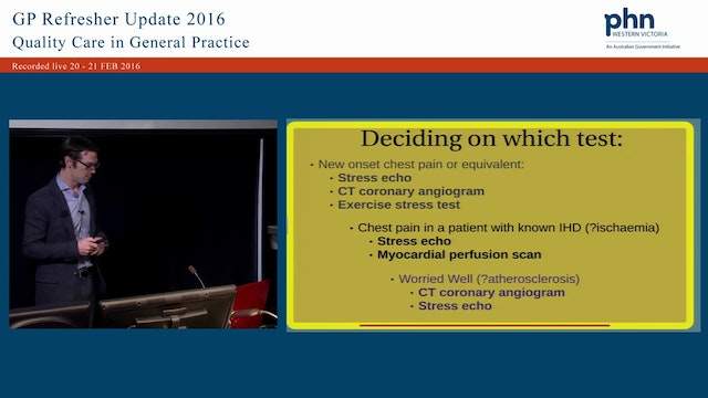 Cardiology -Which tests, when and to ...
