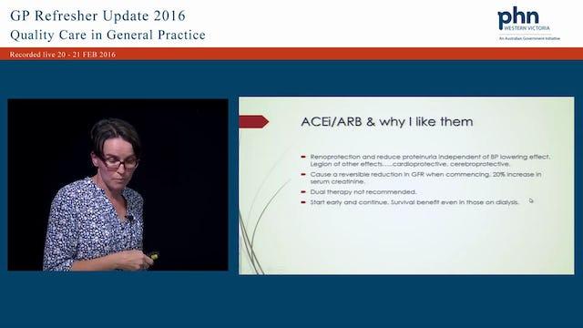 Chronic Kidney Disease When to refer - dialysis, What to do in the interim, Best management Speaker Professor Karen Dwyer